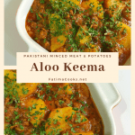 Aloo Keema – Pakistani Minced Lamb and Potato Curry