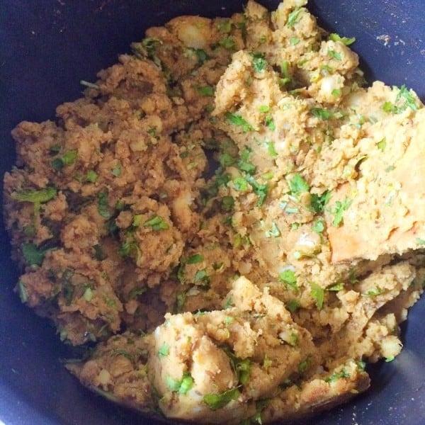 Hot Cumin-Spiced Potato Filling for Samosas - Fatima Cooks