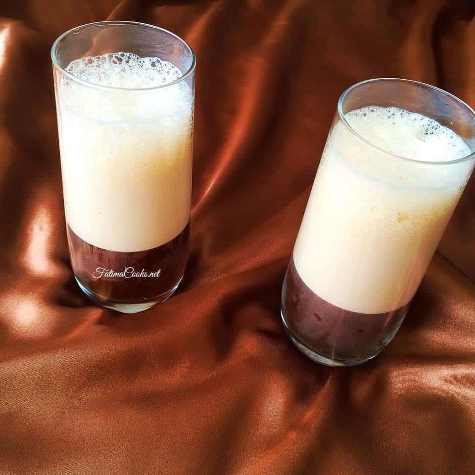 Quick & Easy 4 Ingredient Iced Black Coffee - Recipe @ FatimaCooks.net