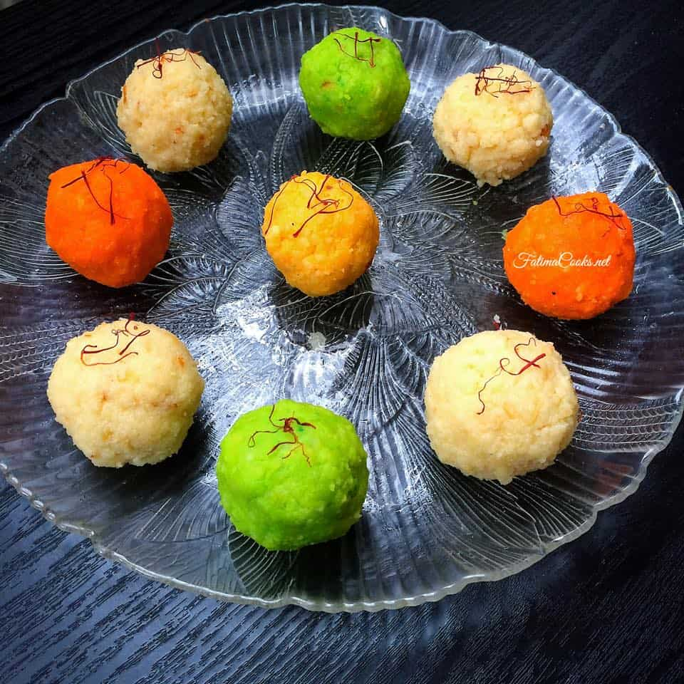 Kalakand / Paneer Ladoos - Sweet Cottage Cheese Balls - Recipe @ Fatima Cooks