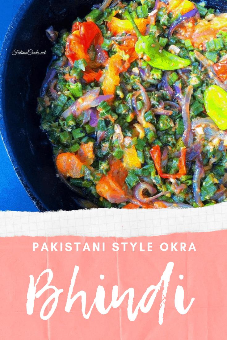 How To Make Bhindi Masala - Pakistani Okra Curry