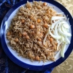 Chana Pulao / Pilau – Chickpeas and Rice Pilaf