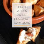 How To Make Sweet Coconut Samosas – Khopra  / Nariyal Ka Samosa