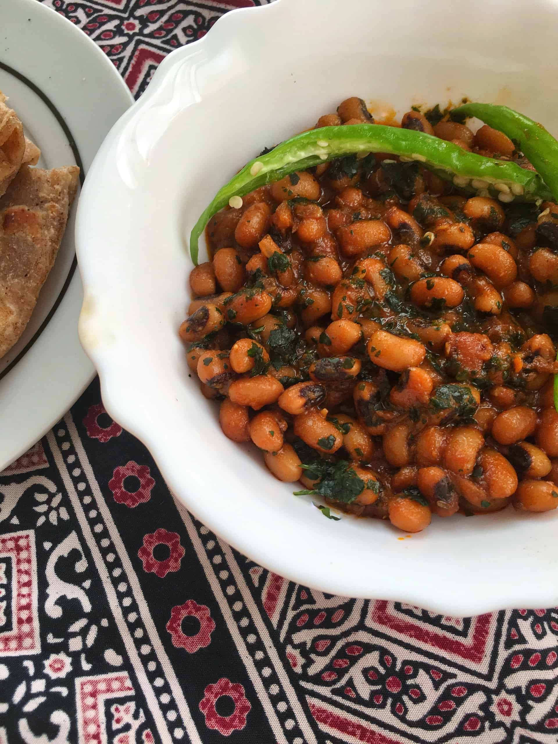 Lobia Masala Recipe   How To Cook Black Eyed Peas Curry   Pakistani / Indian Recipe