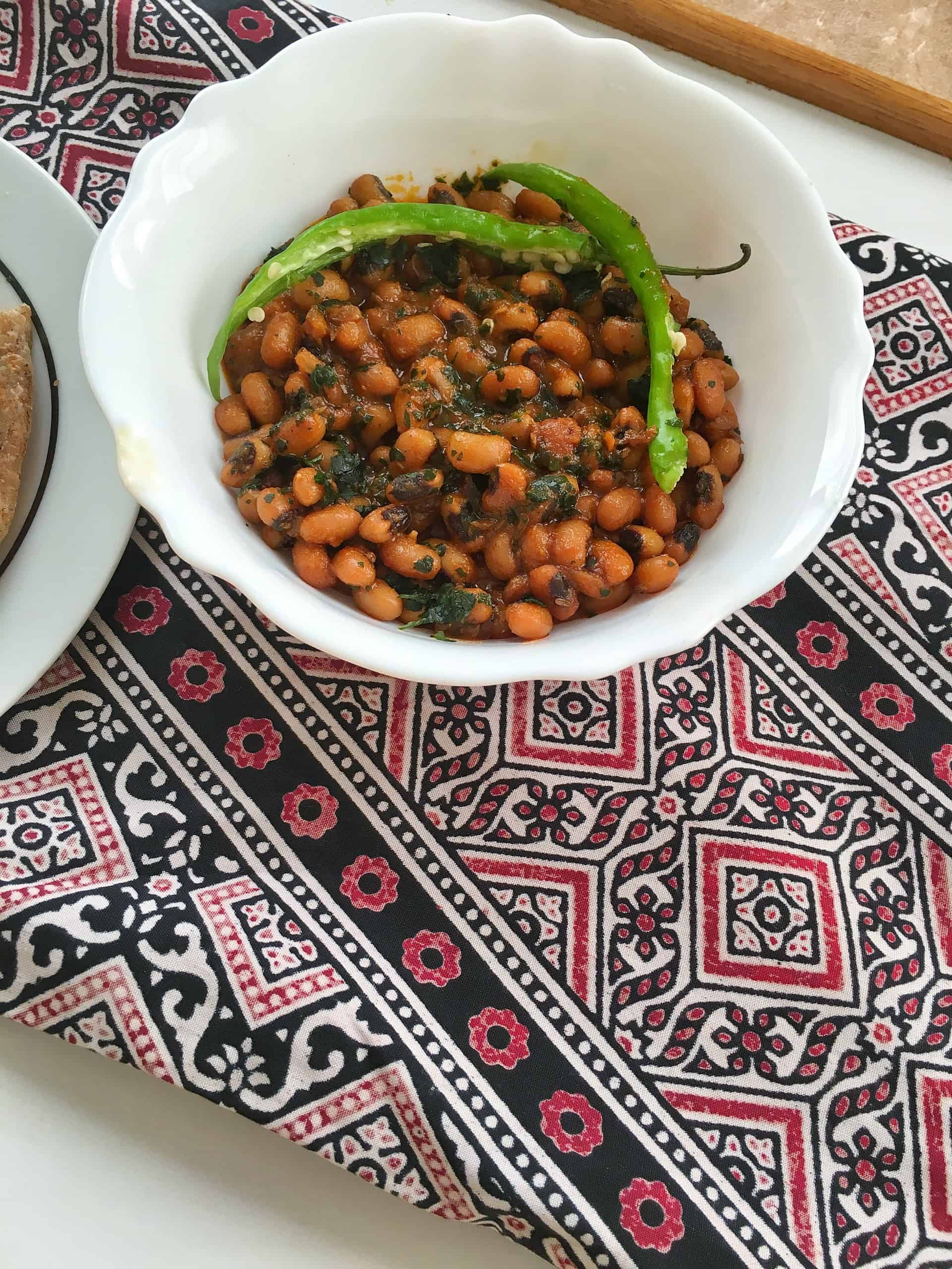 Lobia Masala Recipe | How To Cook Black Eyed Peas Curry | Pakistani / Indian Recipe
