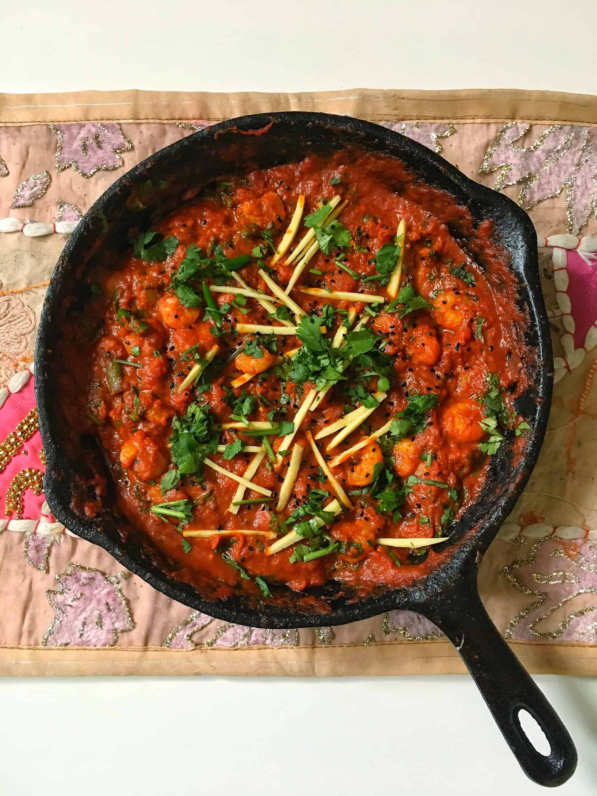 How To Make Prawn Karahi Masala - A Pakistani & Indian Tomato Based Curry Recipe