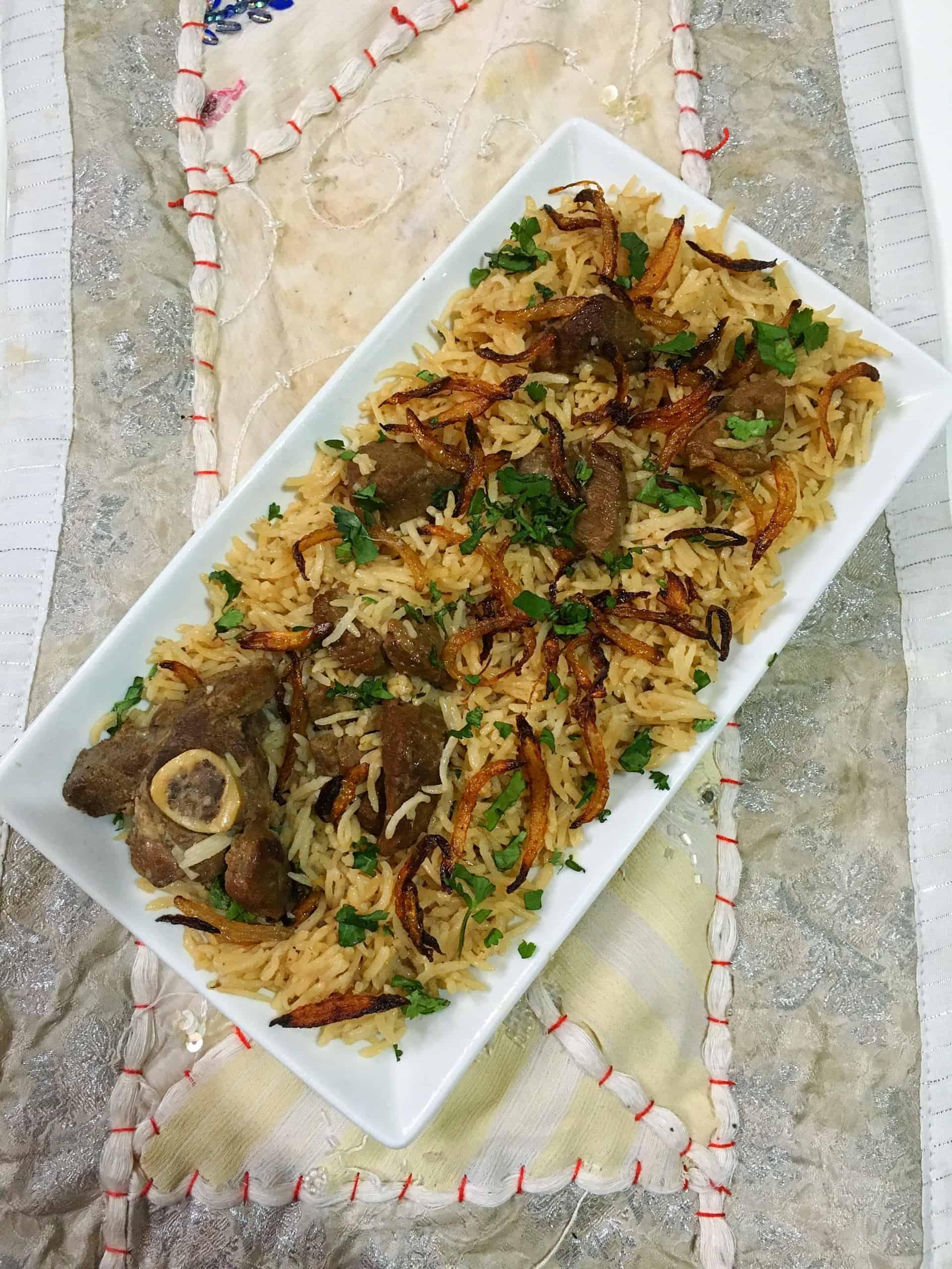 Mutton Pulao | Mutton Yakhni Pilau | Pakistani & Indian Recipe