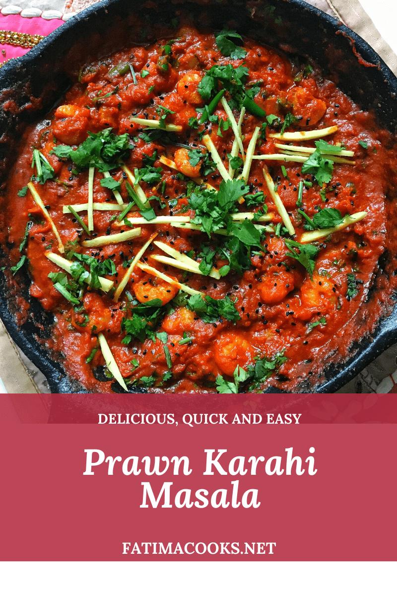 How To Make Prawn Karahi Masala - A Pakistani & Indian Tomato Based Curry Recipe