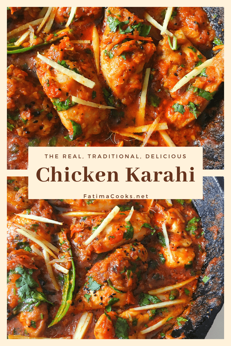 Chicken Karahi Recipe + Step by Step Pictures + Tips