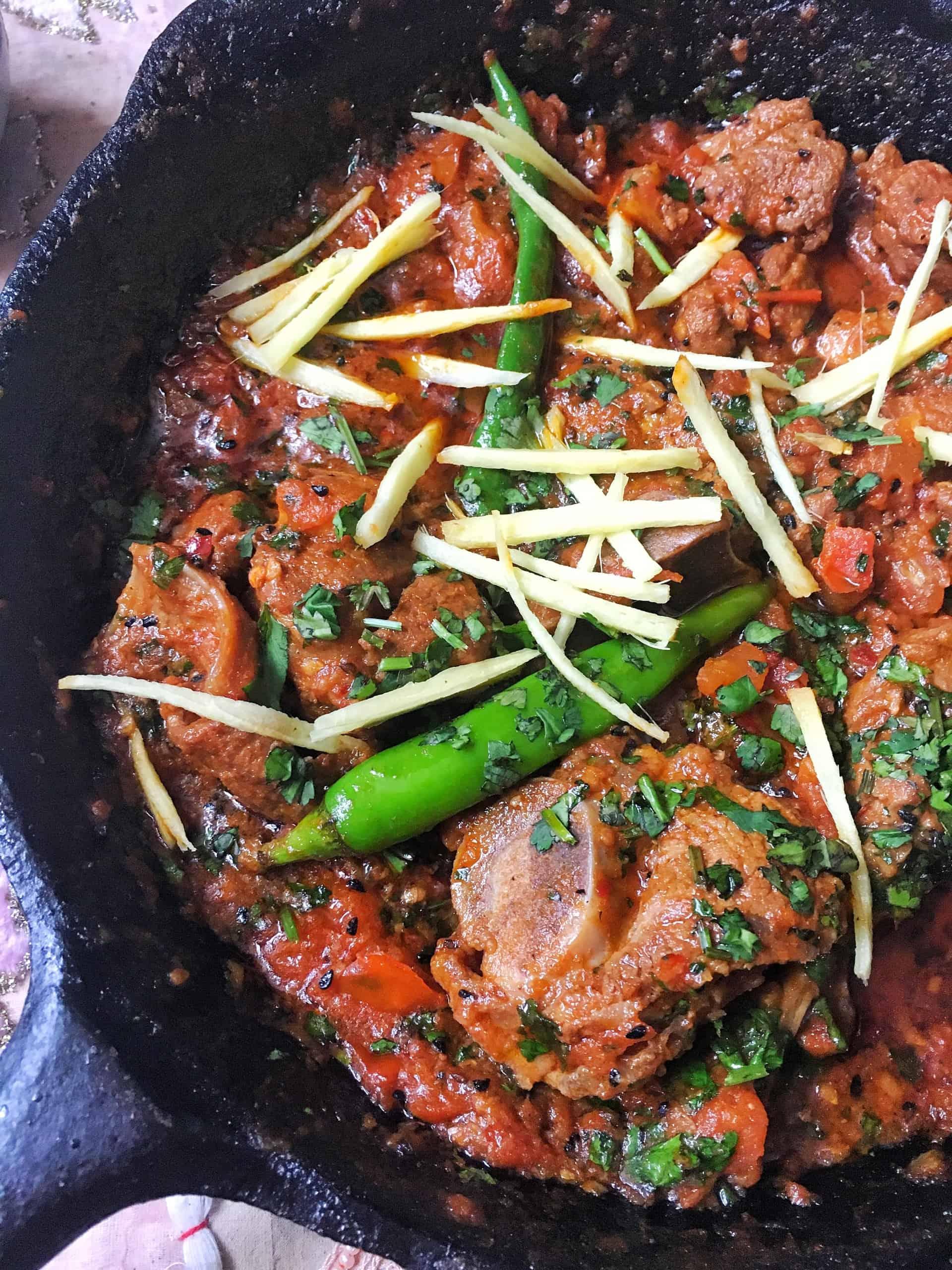 Lamb / Mutton Karahi - An Easy, Traditional Recipe
